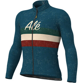 Alé Cycling Classic Vintage LS Jersey Men blue